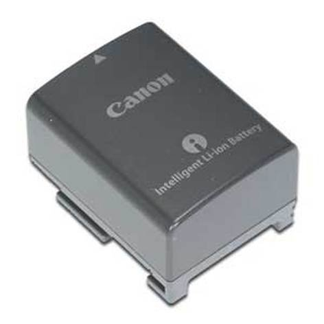 Canon BP808  Battery Pack for Canon Camcorders, 890mAh BP808