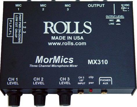 Rolls MX310  3-Channel MorMics Mixer/Combiner MX310