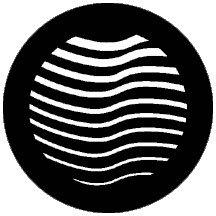 "Rosco Laboratories 74057 ""Organic7"" Patterned Steel Gobo 74057"