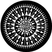 Rosco Laboratories 77231 Kaleidoscope Gobo 77231