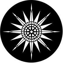 Rosco Laboratories 77439 Compass Rose Gobo 77439