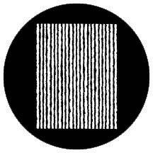 """Rosco Laboratories 77621 """"No Strings"""" Gobo 77621"""