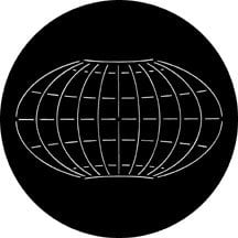 Rosco Laboratories 78087 Longitude/Latitude Global Grid Gobo 78087