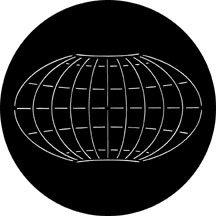 Rosco 78087 Longitude/Latitude Global Grid Gobo 78087