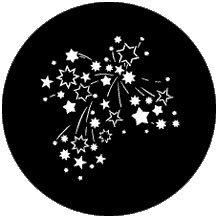 "Rosco Laboratories 78123 ""Stars 8"" Gobo 78123"