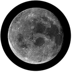 Rosco Laboratories 81174 Full Moon Glass Gobo 81174