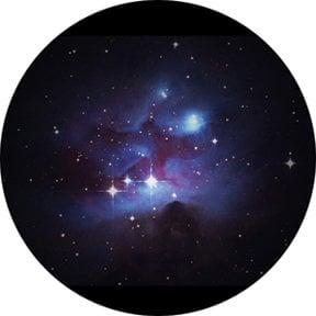 """Rosco Laboratories 86666 Colored """"Bright Nebula"""" Glass Gobo 86666"""