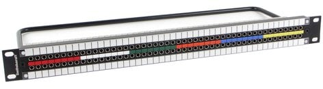 Switchcraft MMVP48K1N75T  Patch Bay, Video 2x48 Terminated MMVP48K1N75T