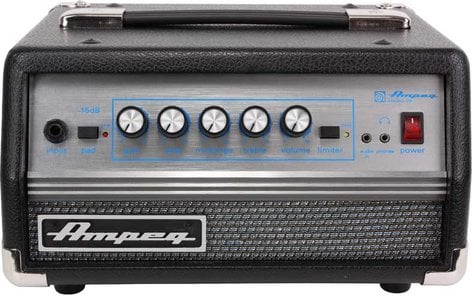 Ampeg MICRO-VR Micro VR 200W Solid-State Bass Amplifier Head MICRO-VR