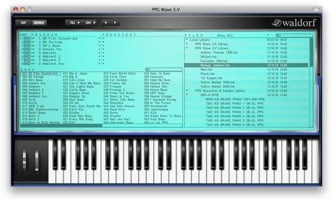Waldorf Music WDF-PPG-3  Software,Synthesizer,Wave 3.V  WDF-PPG-3