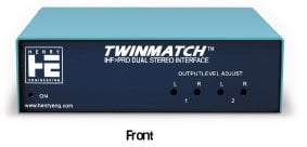 Henry Engineering TWINMATCH-HD  Dual Stereo Level and Impedance Interface TWINMATCH-HD