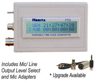 Horita PTG Portable Time Code Generator PTG