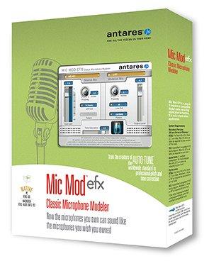 Antares MIC-MOD-EFX  Software Mic Modeler Plug-In  MIC-MOD-EFX