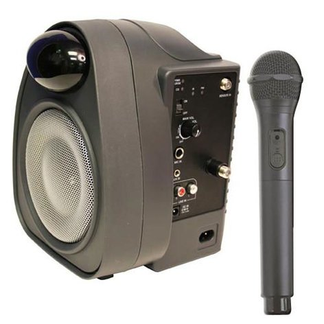AmpliVox SIR285 InfraRed Speaker, 30W with Infrared Wireless SIR285