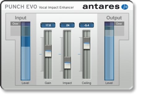 Antares PUNCH-EVO Vocal Impact Enhancer Plug-in (Mac/PC) PUNCH-EVO