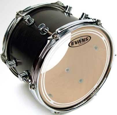 """Evans TT13ECR 13"""" EC Resonant Clear Drum Head TT13ECR"""