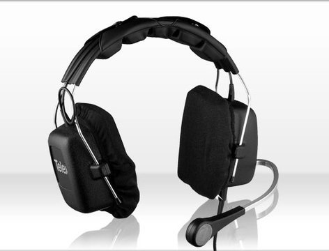 Telex PH3R5 Dual Headset with Mic and A5M Connector PH3R5