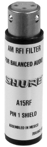 Shure A15RF RF Filter Problem Solver A15RF
