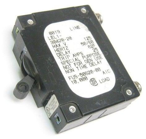 Leviton FUS-50620-0 Leviton Dimmer Circuit Breaker FUS-50620-0