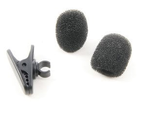 Shure RK323 Clip  and Two Windscreens For PG185 RK323