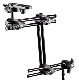 Manfrotto 396B-3 3-Section Double Articulated Arm (with Camera Bracket) 396B-3
