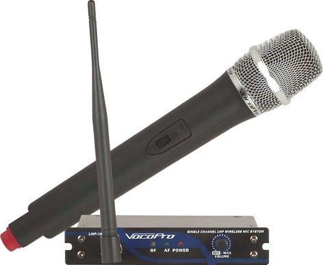 VocoPro UHF18  Mic System, Single Channel  UHF-18