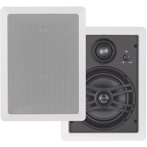 Yamaha NS-IW660 Speaker System, In-Wall, 3 Way, PAIR NS-IW660