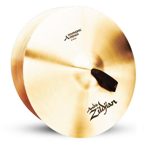 "Zildjian A0427 18"" Symphonic French Tone Cybmal Pair A0427"