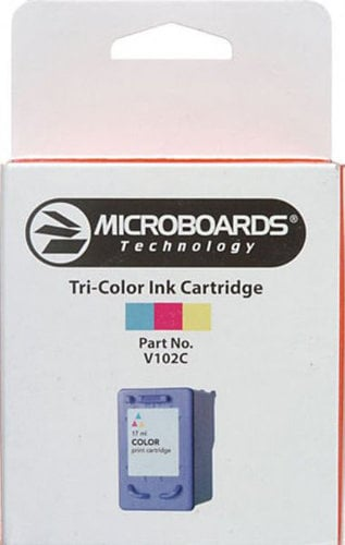 Microboards V102C TriColor Ink Cartridge for 17.1 mL, for PF3, CX1 Disc Printers V102C