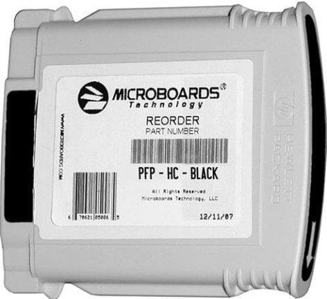 Microboards PFP-HC-BLACK Black In Cartridge for MX-1, MX-2, PF-PRO Disc Printers PFP-HC-BLACK