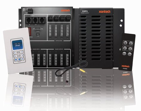 Xantech D5SHK4 Digi-5 4x4 4 Zone System D5SHK4