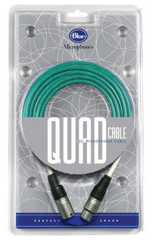 Blue Microphones Quad Cable 20 ft Microphone Cable for Kiwi , Cactus , Bottle Rocket Microphones QUAD-CABLE