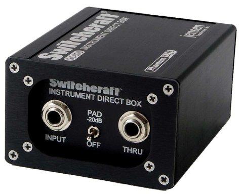 Switchcraft SC900-SWITCHCRAFT Direct Box, Jensen Ground Lift SC900-SWITCHCRAFT