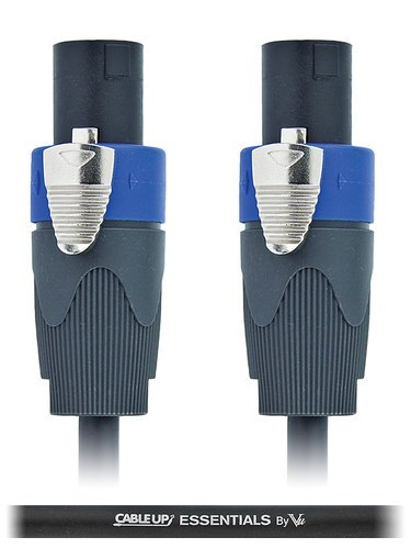 Cable Up by Vu SPK16/2-SS-100 100 ft 16AWG Speaker Twist to Speaker Twist Speaker Cable SPK16/2-SS-100