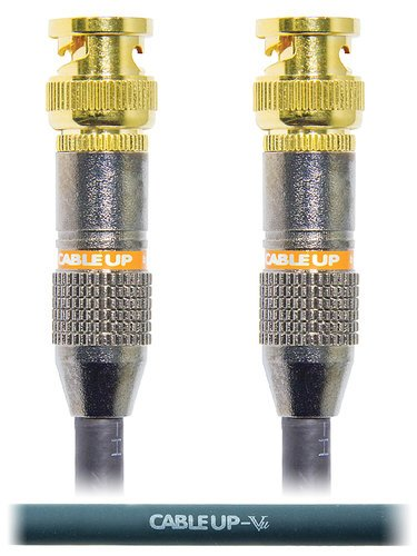 Cable Up by Vu BNC-BNC-100 100 ft 75 Ohm BNC to BNC Video Cable BNC-BNC-100