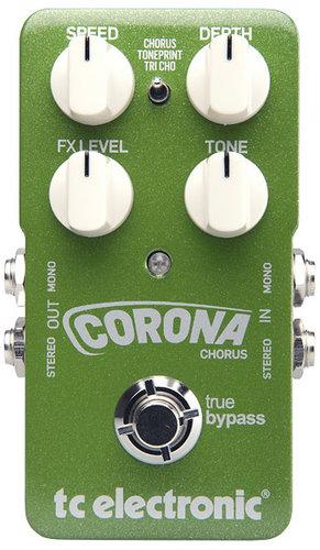 TC Electronic Corona Chorus Chorus Guitar Pedal with TonePrint CORONA-CHORUS