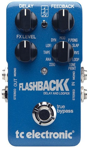 TC Electronic Flashback Delay Delay Guitar Pedal with Looper FLASHBACK-DELAY