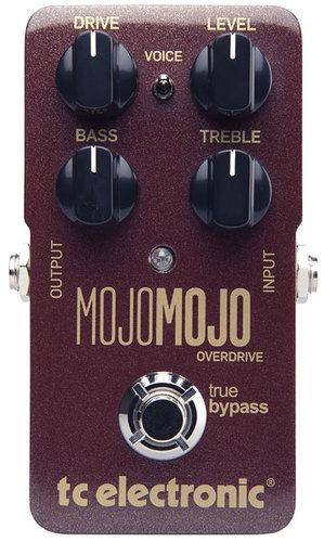 TC Electronic MojoMojo Overdrive Overdrive Effects Pedal MOJOMOJO-OVERDRIVE