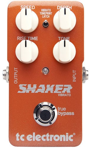 TC Electronic Shaker Vibrato Vibrato Effects Pedal with TonePrint SHAKER-VIBRATO