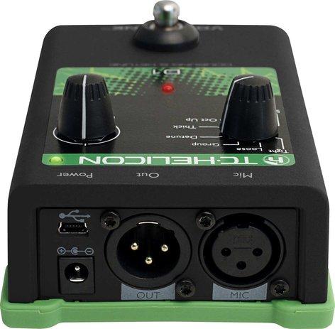 TC Helicon VOICETONE-D1 Pedal, Voice Doubling/Detune VOICETONE-D1