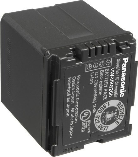 Panasonic VWVBG260PP8 7.2V Lithium Ion Rechargeable Battery for AGHMC70 Camcorder VWVBG260PP8