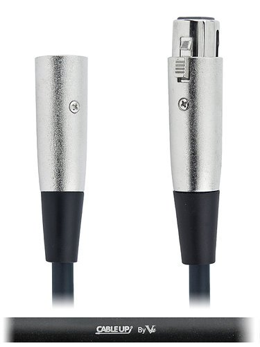 Cable Up by Vu DMX-XX5-0.5 6-inch 5-Pin DMX Male to 5-Pin DMX Female Cable DMX-XX5-0.5