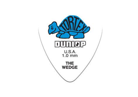 Dunlop Manufacturing 424P 12-Pack of Tortex Wedge Guitar Picks 424P
