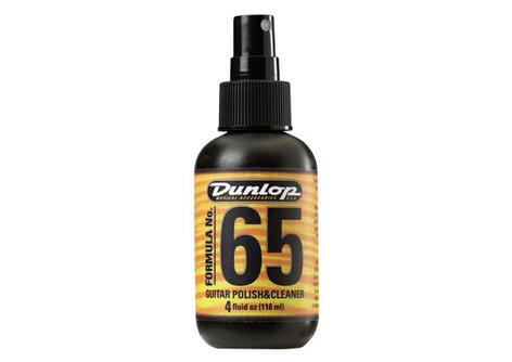 Dunlop 654-DUNLOP 4oz. Bottle of Formula 65 Guitar Polish and Cleaner with Pump 654-DUNLOP