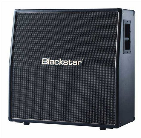 "Blackstar Amps HTV412A 4x12"" 320W HT Venue Series Angled Guitar Speaker Cabinet HTV412A"