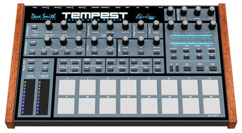 Dave Smith Instruments Tempest Analog Drum Machine by Dave Smith and Roger Linn TEMPEST