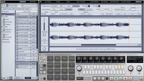 FXpansion GEIST Software,Sampling Drum Machine GEIST