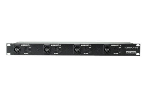 Whirlwind MLTSP1X2  Mic Splitter, 4-channel 1 x 2 MLTSP1X2