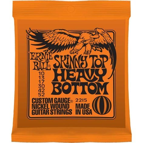 Ernie Ball P02215 Skinny Top/Heavy Bottom Slinky Nickel Wound Electric Guitar Strings P02215