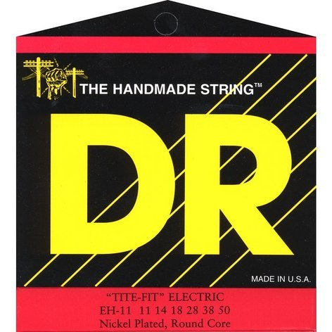 DR Strings EH11 Extra Heavy Tite Fit Electric Guitar Strings EH11
